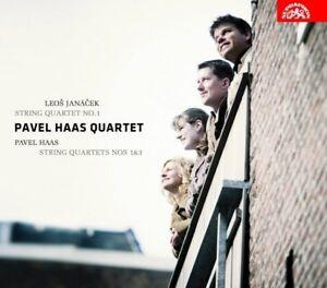 JANACEK / PAVEL HAAS: STRING QUARTETS (CD)