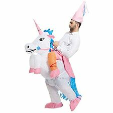 9f55b820d63f TOLOCO Inflatable Adult Unicorn Rider Halloween Costume