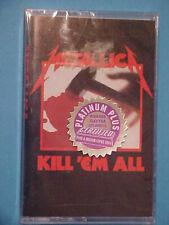 Kill 'Em All by Metallica (Cassette, Jun-1995) NEW Sealed Elektra
