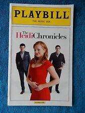 The Heidi Chronicles - Music Box Playbill w/Ticket - April 7th, 2015 - Moss