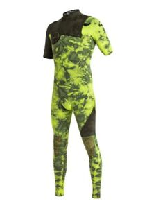 QUIKSILVER Youth 2/2 HIGHLINE ZIPLESS S/S Wetsuit - GJS0 - Size 8 - NWT