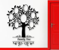 Wall Sticker Vinyl Decal Family Tree Great Room Decor Home (ig2049)