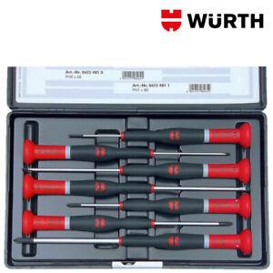 Cacciaviti di Precisione Professionali Set 7pz - WÜRTH 06134892