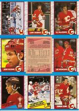 1998-99 OPC O-Pee- Chee Calgary Flames Complete Team Set (19)