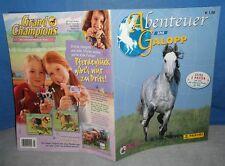 Abenteuer im Galopp Leeralbum für Bilder Sticker Panini Album leer Pferde Poster