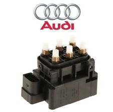 For Audi A6 Quattro S6 S8 Air Suspension Solenoid Valve Unit Genuine 4F0 616 013