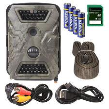 Wildkamera: Refurbished Wild-Vision Full HD 5.0 Überwachungskamera 40 Black-LEDs