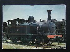 SOUTH AUSTRALIAN RAILWAYS LOCOMOTIVE No. 117 P CLASS AT MILE END MUSEUM POSTCARD