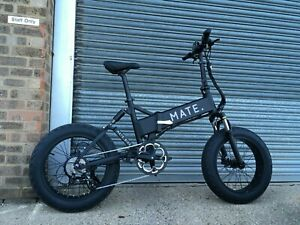 MATE X Electric Bike / Black / 14Ah / 750W / Free Delivery + 1Yr Warranty