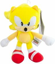"NEW! Tomy Classic 1992 SUPER Sonic The Hedgehog Super Collector 8"" Plush, Yellow"