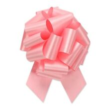 """Pink Pull Bows, 50 Count, 5.5"""", 20 Loops, Satin, Gift wrapping bows"""