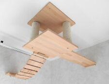 Kletterwand/  Katzenmöbel / Deckenabhängung, Wandkratzbaum! Komplett Nr. 4 (3)