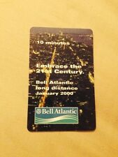 Vintage Bell Atlantic Long Distance Phone Calling Card Collectable Jan 2000