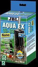 Jbl AquaEx ** ** Seguro Camarón Nano Limpiador de Grava Acuario de 10-35 pequeñas aguamarina EX