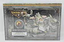 Warmachine Mercenaries Ghordson Earthbreaker Rhulic Colossal New