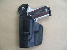 Azula Leather Inside Waist Band IWB LEFT HAND Conceal Holster ..Choose Gun Color