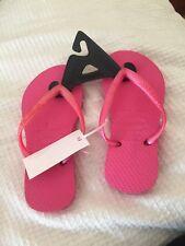Brand New Baby Girls Pink Slim havaianas Size 25-26 Usa 10C