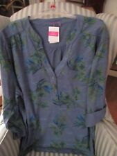 "NWT FRESH PRODUCE WMS "" OFF SHORE "" DESIGN DOCKSIDE HENLEY . A MUST HAVE... (3X)"
