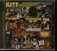 Kiss Unmasked 1997 Remaster German logo CD new Mercury 532 389-2 (1B)