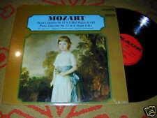 MOZART Piano Concerto STEREO MACE CARL ENGEL LP Vienna