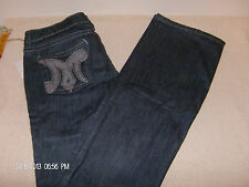 MEK by Miss Me Denim Jeans Slim Boot Cut NWT Size 29-34 Cypress Dark Wash