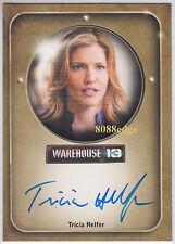 "2010 WAREHOUSE 13 AUTO: TRICIA HELFER - ON CARD AUTOGRAPH ""CYLON NUMBER SIX"""