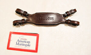 Nunn Finer, New, American martingale, brown, MSRP $50 for running