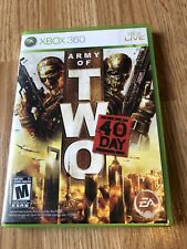 Army Of Two 40th Day Xbox 360 Cib Game Works ES