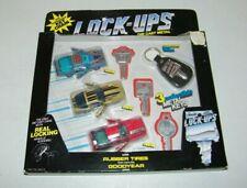 Kidcos Lock-Ups Rare 3 Pack Camaro, Vette, Firebird Locking Wheels & Doors NEW