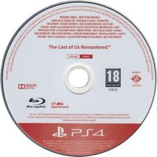 The Last of Us Remastered PS4 PROMO - The Last of Us PS4 PROMO Ultra Rare PS4