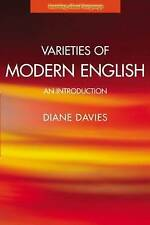 Varieties of Modern English (Learning About Language), Very Good Condition Book,