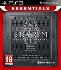 THE ELDER SCROLLS V 5 SKYRIM PS3 LEGENDARY EDITION NUEVO CASTELLANO ESPAÑOL