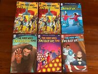 The Man Who F#&%ed Up Time #1-5 Aftershock Comics-Complete Set-1st Print- 2 #1's