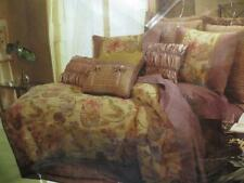 Veratex Olivia Floral  Queen Comforter Set 3 pc New
