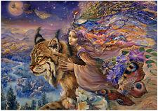 "Jigsaw Puzzles 1000 Pieces ""Flight of the Lynx""/ Josephine Wall / Grafika"