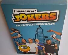 IMPRACTICAL JOKERS COMPLETE SEASON 3 BRAND NEW SEALED R1 DVD