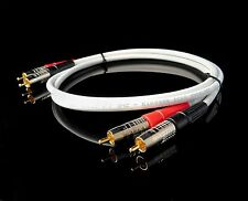 New 3' Belden 1505A High Quality/ Studio Grade Analog RCA Stereo Cables