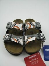 Scarpe grigio stretti Birkenstock per bambini dai 2 ai 16 anni