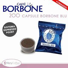 200 Capsule Caffè Borbone espresso point BLU Compatibili Lavazza Espresso Point*