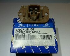 GENUINE HYUNDAI Santa Fe 2009 Blower Resistor Assembly 97907 2B100