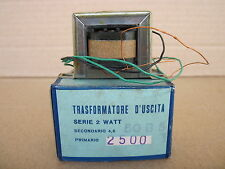 TRASFORMATORE D'USCITA 2500 OHM 50B5 2W SINGLE ENDED NOS