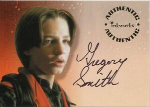 Small Soldiers The Movie Autograph Card S1 Gregory Smith