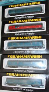 5 Various pieces of Graham Farish coaching  rollingstock  #1