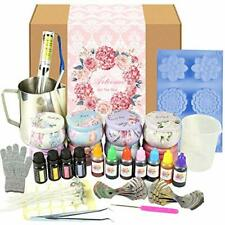 Complete Candle & Melt Making Kits Diy Starter Dyes Wicks Soy Wax Candle Pitcher