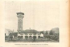 Colonie de Maywood Californie USA GRAVURE ANTIQUE OLD PRINT 1905