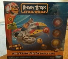 New ANGRY BIRDS STAR WARS MILLENIUM FALCON BOUNCE GAME FACTORY SEALED