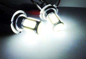 2x High Power 6 COB Panel LED H7 For 11-18 BMW Corner Light 36W HID White Bulb