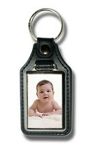 Personalised key fob Personalised key ring Baby picture pet picture any picture