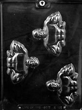 MUSCLE MAN PIECES  MOLD chocolate candy molds weight lifter muscles