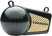 Cannon 4 Pound Flash Weight w/Extra Lure Power Black Vinyl Coating 2295002